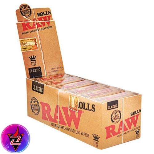 RAW CLASSIC KING SIZE PAPER 12PER BOX